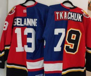 Two hockey teams? no problem with jerseys