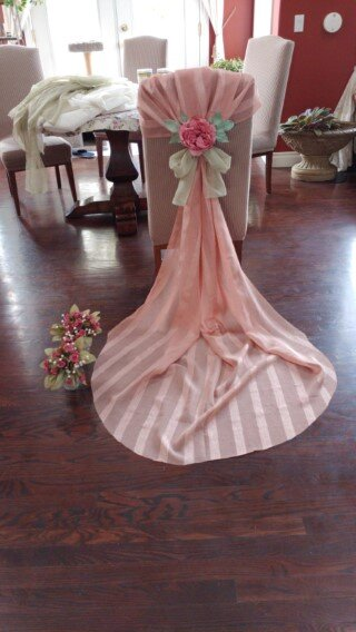 Wedding or Party Chair Decorations